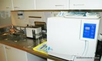 Autocalve and part of sterilising area